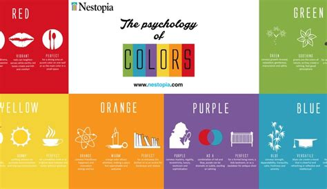room colour psychology colors affecting mood home decoration