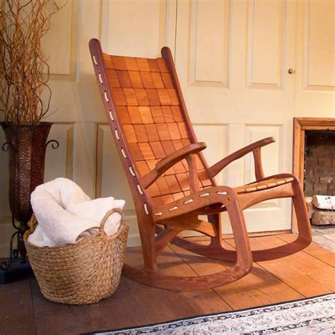 unique quilted vermont rocking chair hand  eco