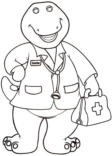 barney coloring pages barney coloring pages for preschoolers 360coloringpages