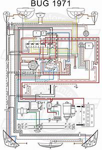 9523a2d 1971 Vw Wiring Diagram Colored
