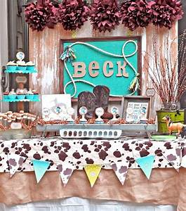 BN Black Book Of Parties 39Lil Cowboy Themed Baby Shower
