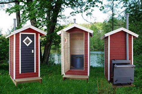 Komposttoilette Mit Häuschen Für Garten, Wander Und