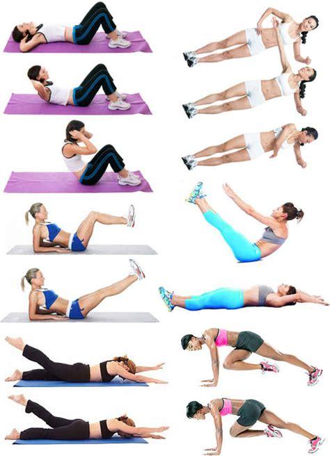 Упражнения похудения живота домашних условиях для девушек