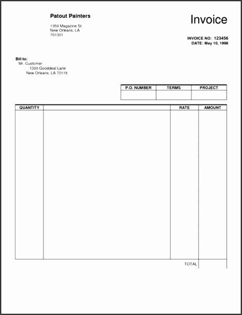blank invoice template word sampletemplatess