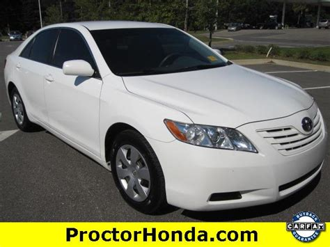 Cars For Sale Fl by Used 2007 Toyota Camry Le Sedan Car For Sale In