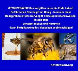 Warum Machen Bienen Honig : machen sie mit stopptbayer gef hrliches nervengift im honig sch digt bienen und hummeln ~ Whattoseeinmadrid.com Haus und Dekorationen