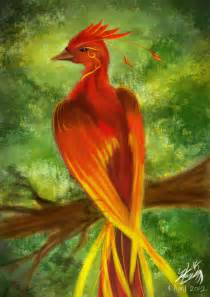 Firebird Phoenix Bird