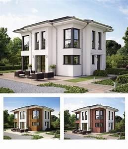 Fertighaus Bien Zenker : moderne stadtvilla fertighaus haus evolution 122 v14 bien zenker fassadengestaltung putz ~ Orissabook.com Haus und Dekorationen