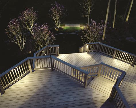 deck lighting ideas for a dark deck outdoor lighting in chattanooga
