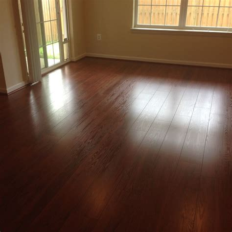 laminate flooring empire my estate living auburn cherry 8mm 7 inch plank laminate wood flooring installed by empire