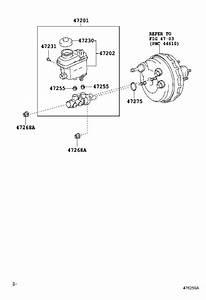 Toyota Sequoia Brake Master Cylinder  Brakes  Leak  Repair