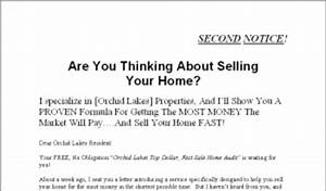 how to get a 3 to 1 return on your marketing dollars With real estate farming letters