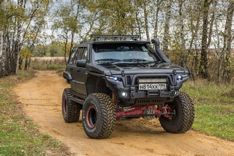 baja jeep grand cherokee тюнинг jeep grand cherokee zj по законам baja 1000
