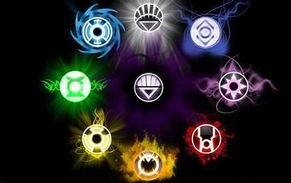 Lantern Corps Violet Indigo Yellow Tribe Wallpapers