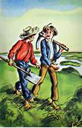 Tom Sawyer   Huckleber...Huckleberry Finn And Tom Sawyer