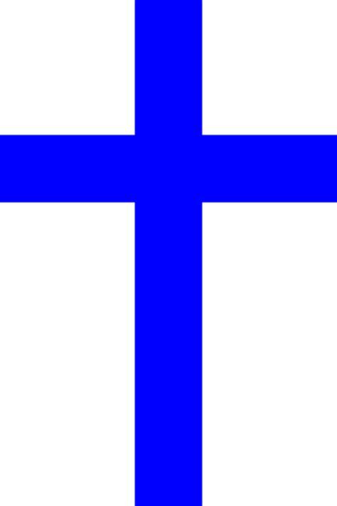 Blue Cross Blue Clip Art At Clkercom  Vector Clip Art