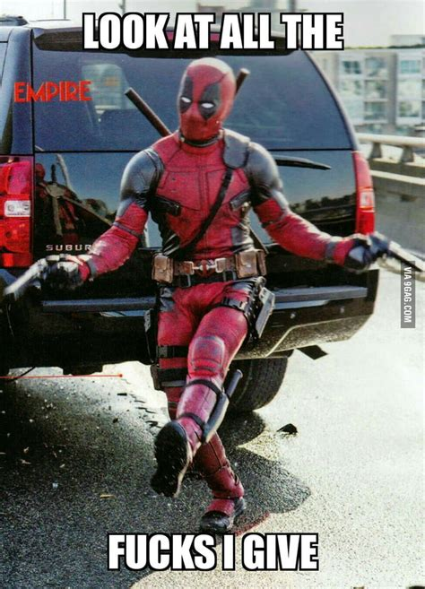 Gag Meme - new deadpool meme is born 9gag