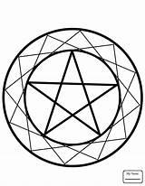 Wiccan Coloring Pentacle Wicca Pages Pentagram Drawing Element Drawings Printable Elemental Elements Culture Template Sketch Supercoloring Getdrawings Categories sketch template