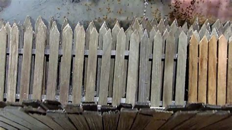 diorama tip  weathered wooden fencing youtube