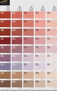 Fasádní barvy vzorkovník