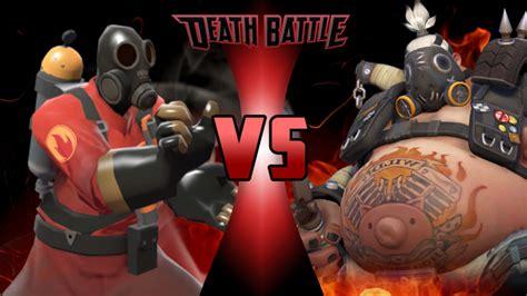 pyro  roadhog death battle fanon wiki fandom