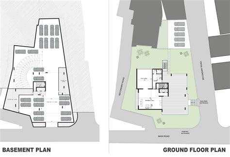 floor plan of a building gallery of beirut residential building accent design
