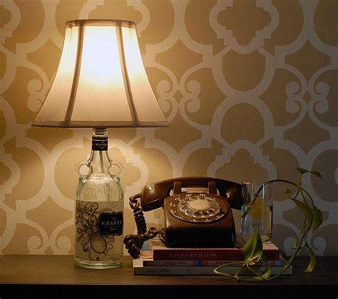diy liquor bottle lamp     bottle lamp home