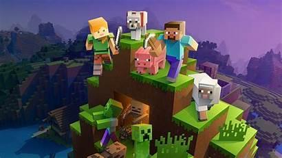 Minecraft Xbox Characters Decade Main Mojang Studios