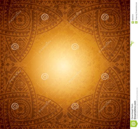 african background design template stock vector image