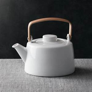 Teapot With Wooden Handle Reviews Crate And Barrel