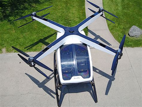 surefly   air taxi  runs  electricityand gasoline