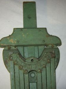 antique american primitive country wood iron clothes wall rack dryer holder tool ebay