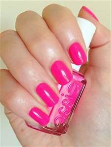 1000 images about Neon Pink Nail Polish on Pinterest