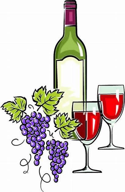 Clipart Wine Bottle Clip Glass Glasses Cartoon