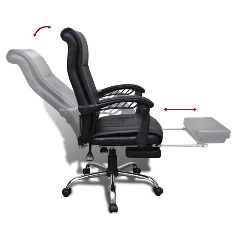 repose pieds bureau la boutique en ligne fauteuil de bureau noir en simili