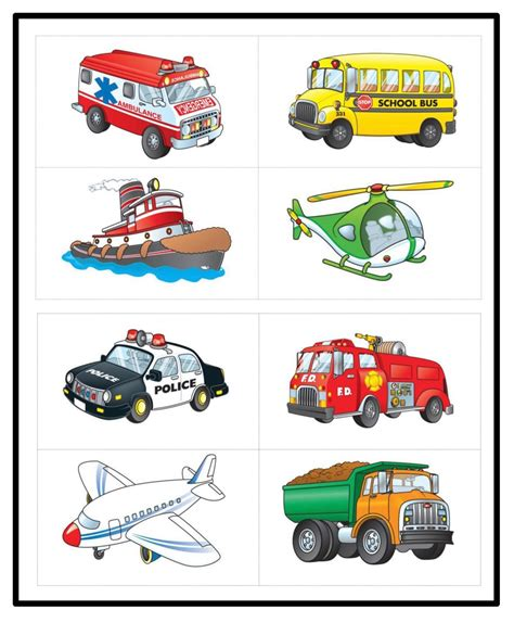 preschool transportation clipart collection 469 | preschool transportation clipart 11
