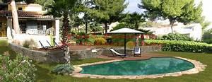 les piscines de forme libre With wonderful plage piscine pierre naturelle 7 les piscines de forme libre