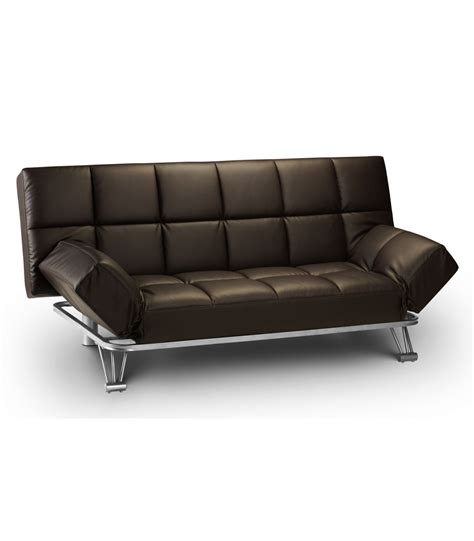 Leather Sofa Bed by Manhattan 3 Seater Leather Sofa Bed