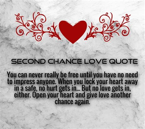love second chance quotes