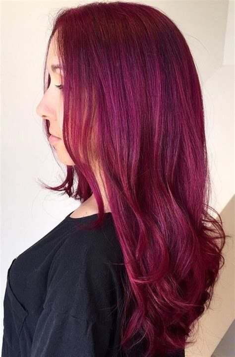 magenta hair color 20 unboring styles with magenta hair color