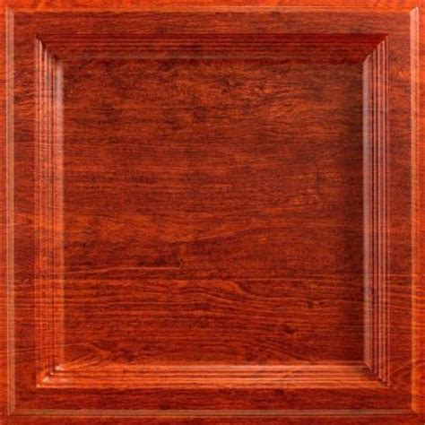 Genesis Ceiling Tiles Home Depot by Genesis 2 Ft X 2 Ft Lay In Icon Relief Wood Finish