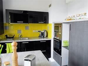 deco cuisine jaune et gris With ordinary piece peinture 2 couleurs 10 10 idees deco pour votre interieur cet automne