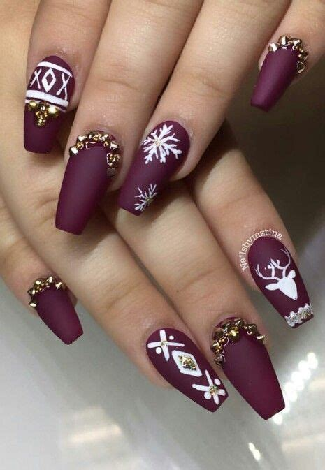 Coffin nail designs look great on long nails because of the ample nail bed space. 45 Best Coffin Nail Design Ideas » EcstasyCoffee
