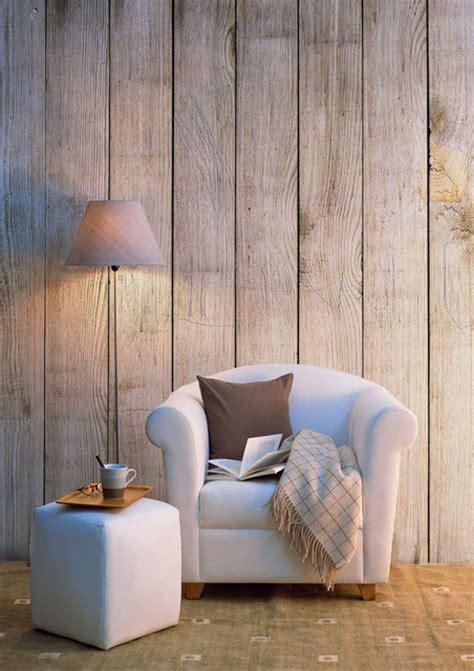 papiers peints bois vieilli cagne salon nantes