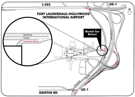 fort lauderdale airport palm garage directions