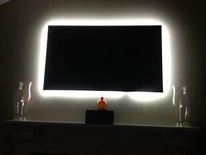 Led Hintergrundbeleuchtung Tv Nachrüsten : tv backlight kit from inspired led installs in minutes and is so affordable lighting diy ~ Watch28wear.com Haus und Dekorationen