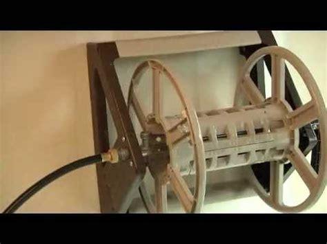 ames neverleak wall mount hose reel assembly video youtube