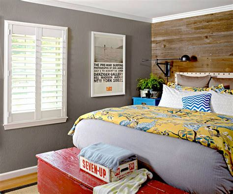gray nightstand contemporary bedroom glynis wood interiors