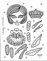 Dolls Paper Doll Ballerina Coloring Printable Instant Pages Etsy Puppets Artist Kilt Puppet Mermaid Google Jointed Toys Create Papel Adult sketch template
