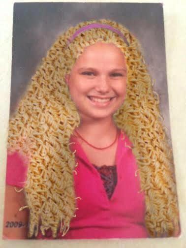 ramen noodle hair wtf gallery ebaums world